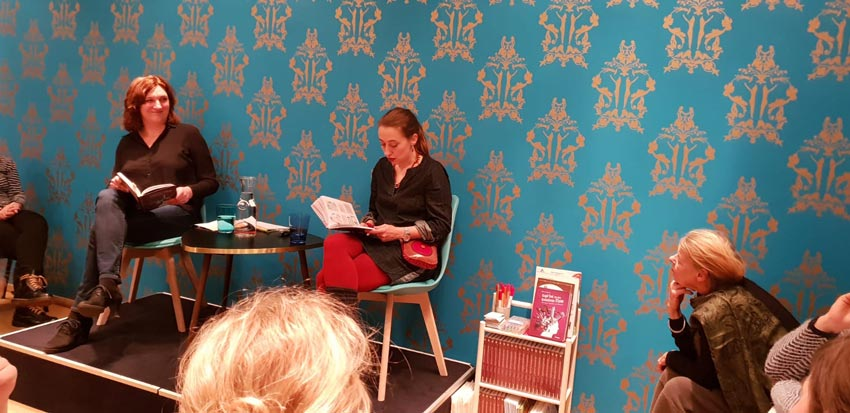 Lesung von Roberta Bergmann