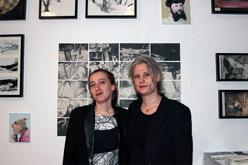 Roberta Bergmann und Juliane Wenzl