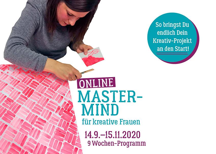 """Online-Mastermind für kreative Frauen von """"Der kreative Flow"""""""