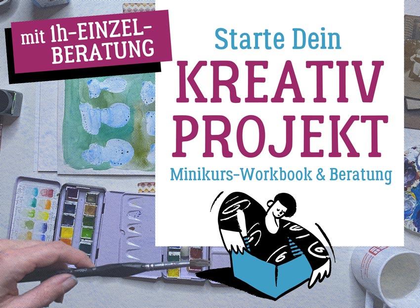 Dein Kreativprojekt starten, Coaching und Minikurs von Roberta Bergmann
