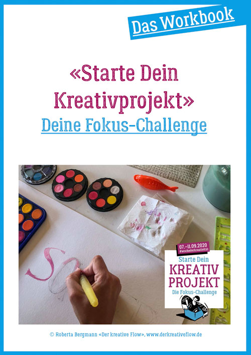 Workbook für Dein Kreativprojekt