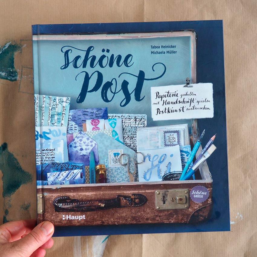 """Buchcover """"Schöne Post"""" von Tabea und Michaela"""
