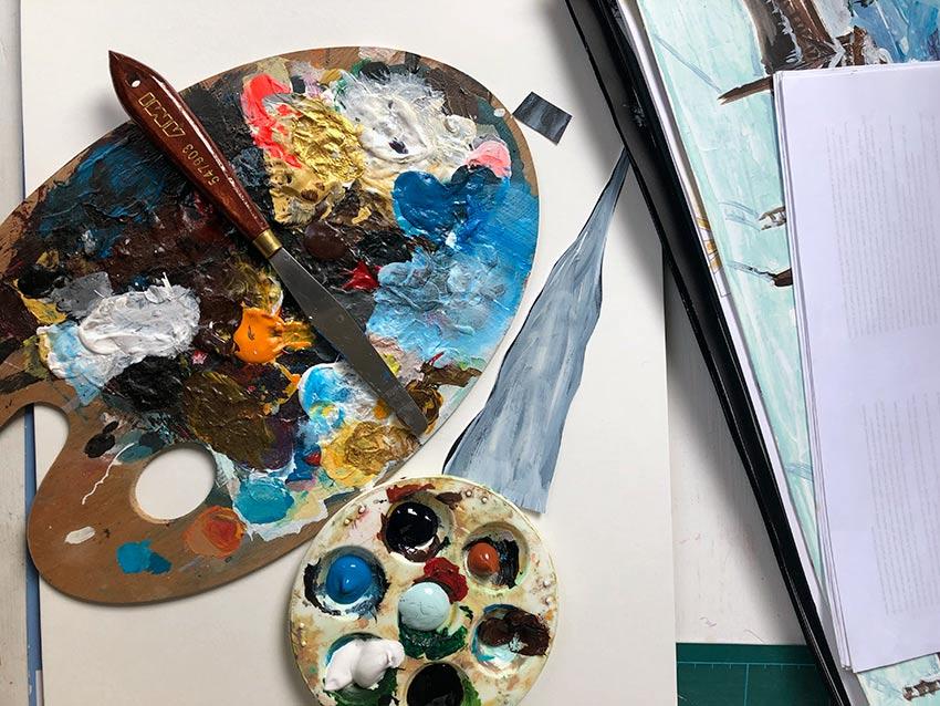 Farbpalette von Roberta Bergmann