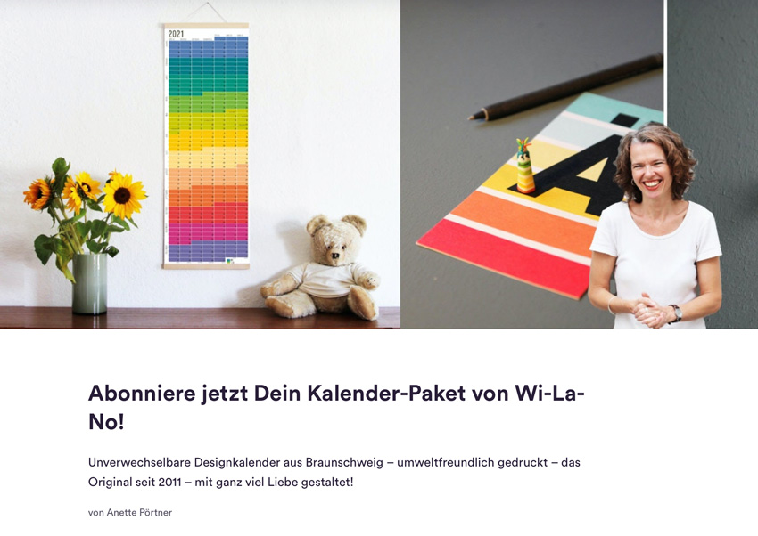 Wilano / Anette Pörtner bei Steady