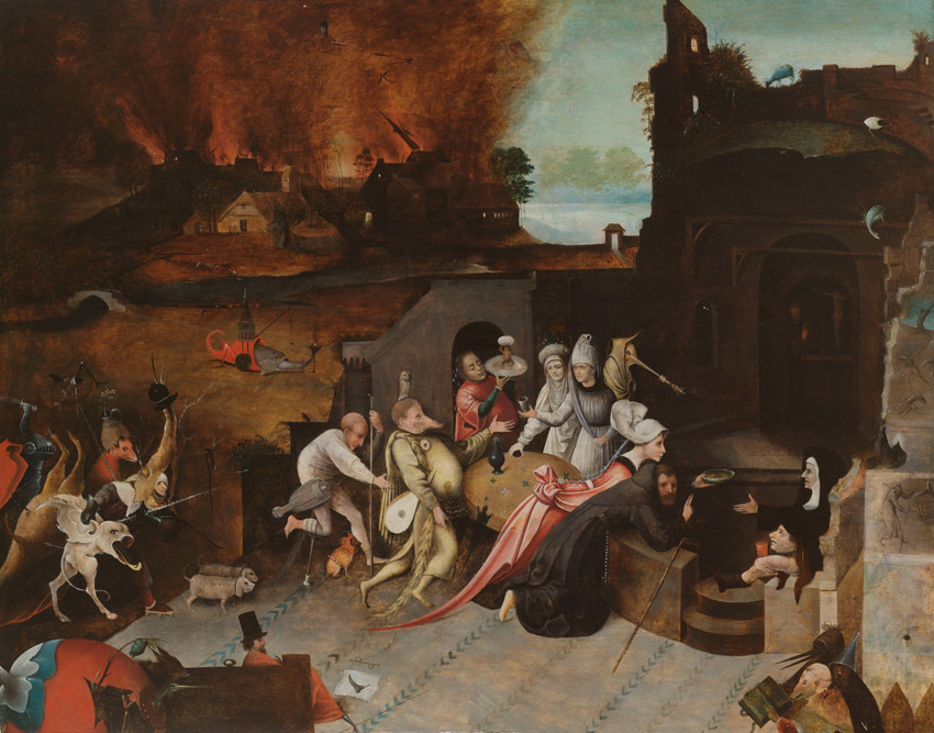 The Temptation of St Anthony, Hieronimus Bosch