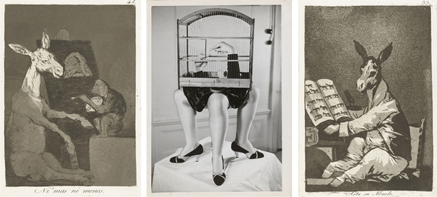 Francisco de Goya, «Nimasniemenos» «AstasuAbuelo», Kurt Seligmann, «l'Ultrameuble»