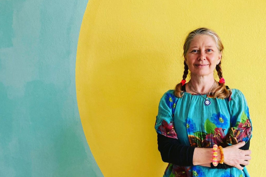 Kat Menschik im Portrait