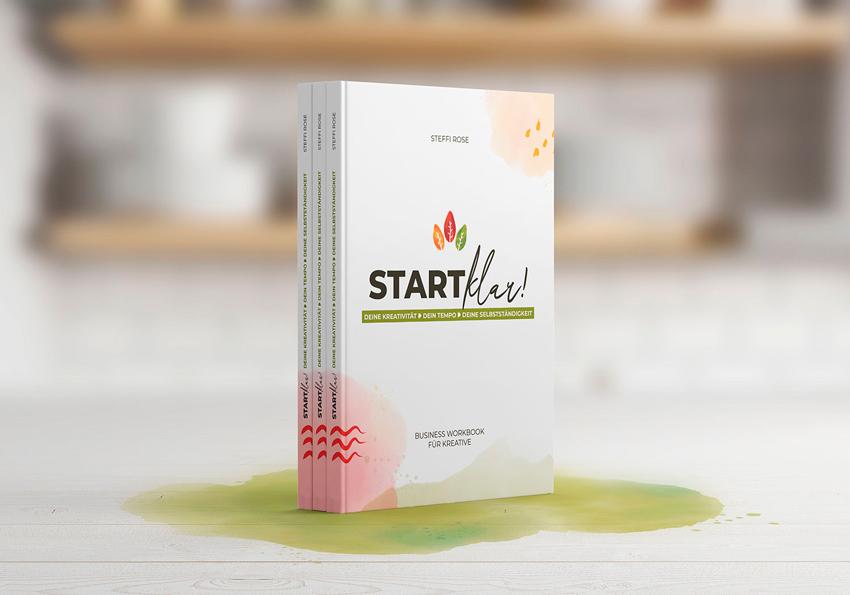 """Buch von Steffi Rose """"Startklar – Businessworkbook für Kreative"""""""