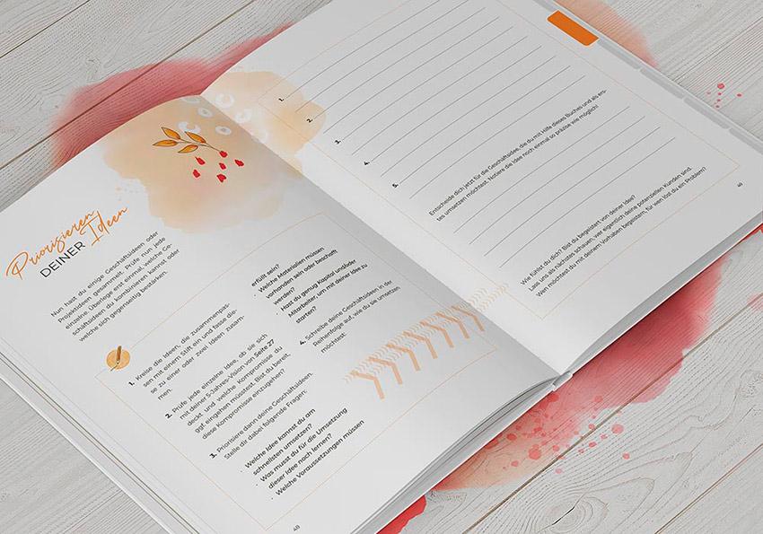 """Einblick in Steffi Roses Buch """"Startklar"""""""