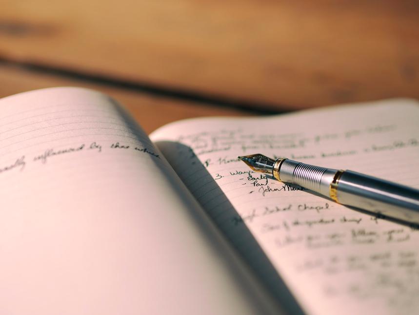 Tagebuch, Füller