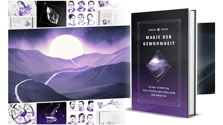 """Das Buch """"Die Magie der Gewohnheit"""" von Sandra Süsser"""