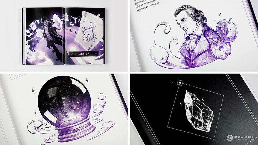 """Einblick in das Buch """"Magie der Gewohnheit"""" von Sandra Süsser"""